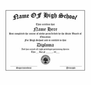 Get Fake Transcripts ✅For Free!! College, University, High intended for Fake Diploma Certificate Template