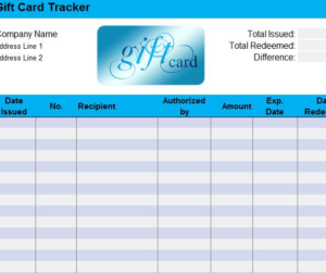 Gift Certificate Log Template (2) | Professional Templates pertaining to Unique Gift Certificate Log Template