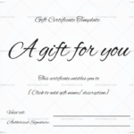 Gift Certificate Template – 19+ Choose & Customize For Any For Tattoo Gift Certificate Template