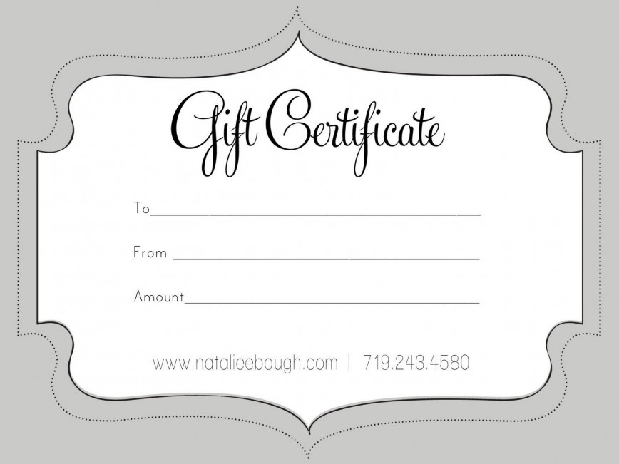 Gift Certificate Template Free ~ Addictionary pertaining to New Massage Gift Certificate Template Free Printable