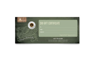 Gift Certificate Templates – Indesign, Illustrator, Word inside New Gift Certificate Template Publisher
