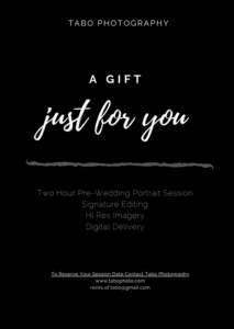 Gift Certificates – Tabo Photography for Fresh Photography Session Gift Certificate