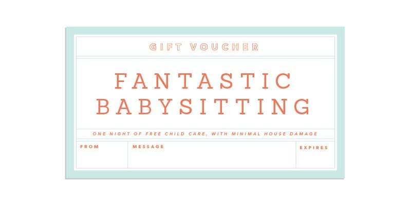 Gift-Giving Made Easy | Coupon Template, Babysitting Coupon with regard to Best 7 Babysitting Gift Certificate Template Ideas