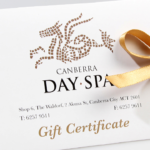 Gift Vouchers — Canberra Day Spa Regarding Quality Spa Gift Certificate
