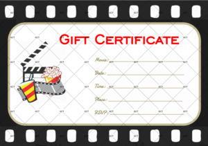 Go To Movie Gift Certificate Template – Gct with regard to Quality Movie Gift Certificate Template