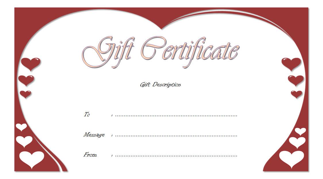 Golden Wedding Anniversary Gift Certificate Template Free regarding Anniversary Gift Certificate Template Free