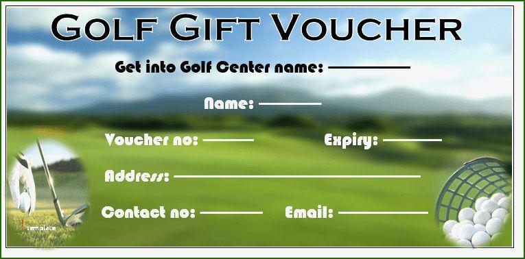 Golf Gift Certificate Template: 13 Help 2020 | Gift pertaining to Golf Gift Certificate Template