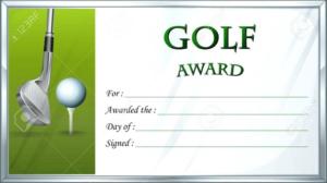 Golf Gift Certificate Template (3) – Templates Example in Best Golf Gift Certificate Template