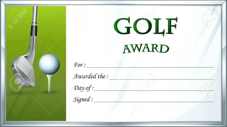 Golf Gift Certificate Template (3) - Templates Example in Best Golf Gift Certificate Template