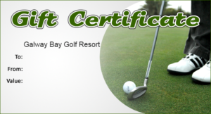 Golf Gift Certificate Template (3) – Templates Example throughout Golf Gift Certificate Template