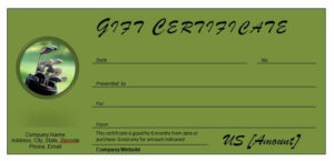 Golf Gift Certificates » Officetemplates in Best Golf Gift Certificate Template