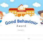 Good Behavior Award Powerpoint Certificate – Pslides With Regard To New Good Behaviour Certificate Template 10 Kids Awards