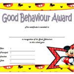 Good Behavior Certificate Free Printable 10 | Certificate Throughout Good Behaviour Certificate Template 10 Kids Awards
