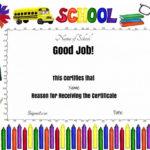 Good Job Award | Teacher Awards, Free Printable Certificate Regarding Good Job Certificate Template Free