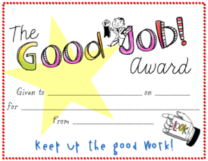 Good Job Certificate Template | Certificate Templates, Free in New Good Job Certificate Template