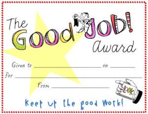 Good Job Certificate Template | Certificate Templates, Free intended for New Good Job Certificate Template