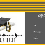 Graduation Gift Certificate Templates - 101 Gift Certificate with Unique Graduation Gift Certificate Template Free