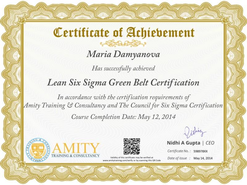 Green Belt Certificate Template 4 – Best Templates Ideas For Pertaining To Quality Green Belt Certificate Template