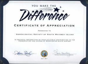 Gsswi: Awards   Certificate Of Recognition Template with regard to Quality Volunteer Award Certificate Template