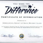 Gsswi: Awards | Certificate Of Recognition Template within Unique Volunteer Certificate Template