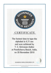 Guinness World Record Certificate Template (7 For Guinness World Record Certificate Template