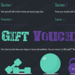 Gym Exercise Gift Certificate Template (Gift Certificate With Best Free 10 Fitness Gift Certificate Template Ideas