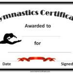 Gymnastics Awards | Certificate Templates, Award Template intended for Gymnastics Certificate Template
