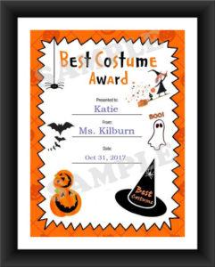 Halloween, Best Costume, Kids Certificate, Halloween Costume, Pdf Download,  Print Your Own, Instant Download, Printable intended for Best Halloween Costume Certificate