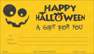 Halloween Gift Certificate Templates – Editable Designs (In intended for Fresh Halloween Gift Certificate Template Free