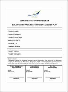 Handover Certificate Template with regard to Best Handover Certificate Template