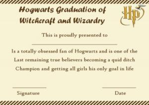 Harry Potter Certificate Template (3) – Templates Example throughout Quality Harry Potter Certificate Template
