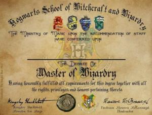 Harry Potter Certificate Template (4) – Templates Example with Harry Potter Certificate Template