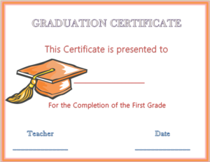 Hats Off Graduation Award Certificate | Graduation intended for Unique Graduation Gift Certificate Template Free