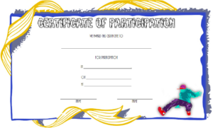 Hip Hop Certificate Template Free For Contest Participation intended for Hip Hop Dance Certificate Templates