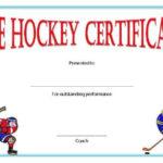 Hockey Certificate Templates In 2020 | Certificate Templates regarding Hockey Certificate Templates