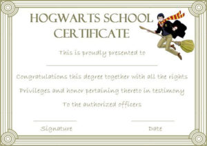 Hogwarts Certificate Template: 10 Templates To Motivate And inside Harry Potter Certificate Template