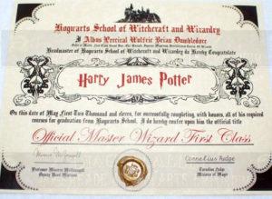 Hogwarts Diploma   Certificate Templates, Harry Potter with regard to Harry Potter Certificate Template