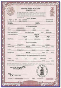 How To Translate A Mexican Birth Certificate To English pertaining to Unique Mexican Marriage Certificate Translation Template