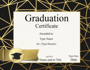 Ideas For Graduation Gift Certificate Template Free On throughout Unique Graduation Gift Certificate Template Free