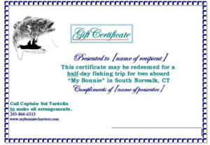 Image Result For Fishing Gift Certificate Template | Gift inside Fishing Gift Certificate Template