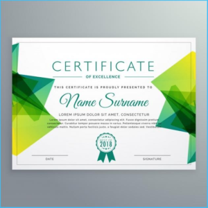 Indesign Certificate Template (4) | Professional Templates within Unique Indesign Certificate Template