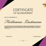 Indesign Template Of The Month: Certificates | Creativepro inside Unique Indesign Certificate Template