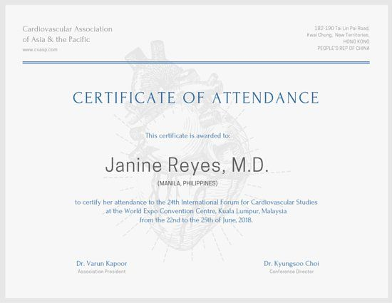 International Conference Certificate Templates (10 regarding Quality Conference Participation Certificate Template
