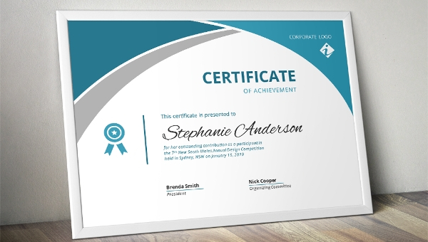 Iq Certificate Template (2) - Templates Example   Templates for Iq Certificate Template