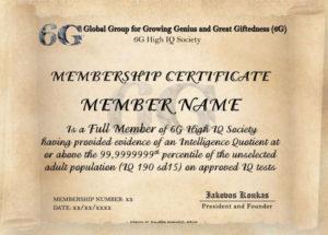 Iq Certificate Template – Atlantaauctionco For Iq with regard to Quality Iq Certificate Template