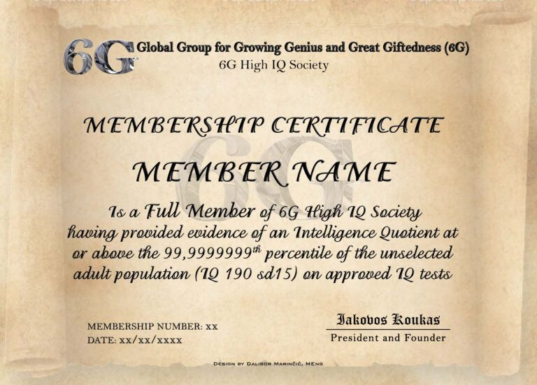 Iq Certificate Template - Atlantaauctionco For Iq with regard to Quality Iq Certificate Template
