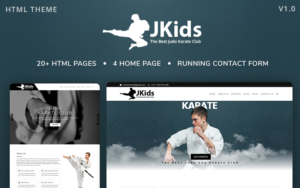 Jkids – Judo Karate And Martial Art Html Website Template within Free 24 Martial Arts Certificate Templates 2020