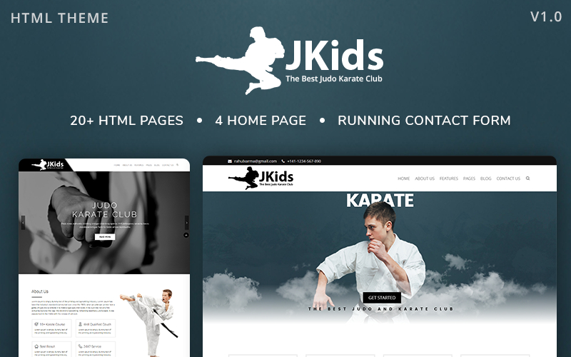 Jkids - Judo Karate And Martial Art Html Website Template within Free 24 Martial Arts Certificate Templates 2020