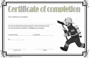 Junior Firefighter Certificate Template Free | Certificate throughout Fresh Firefighter Certificate Template Ideas