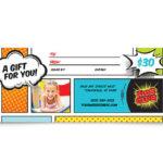 Kids Club Gift Certificate Template Design Pertaining To Kids Gift Certificate Template